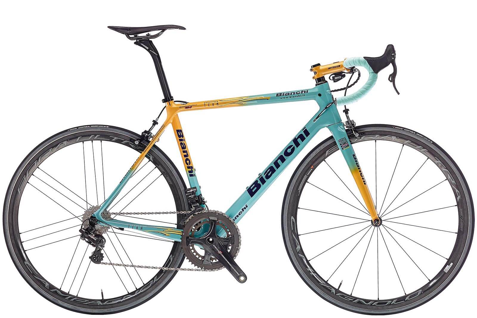 Das 2018er Bianchi Specialissima in der Marco Pantani Edition
