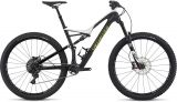 Specialized Stumpjumper FSR Expert Carbon 29 - white/carbon/hyper green - 2017