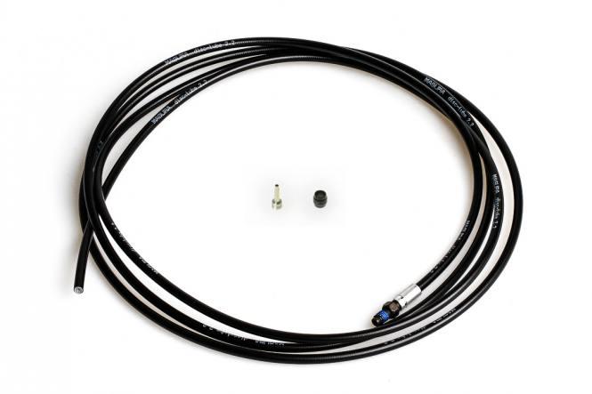 Disctube Leitung für alle MT Bremsen, MT2 nur bis MJ2014, schwarz, 2.500 mm, 0°