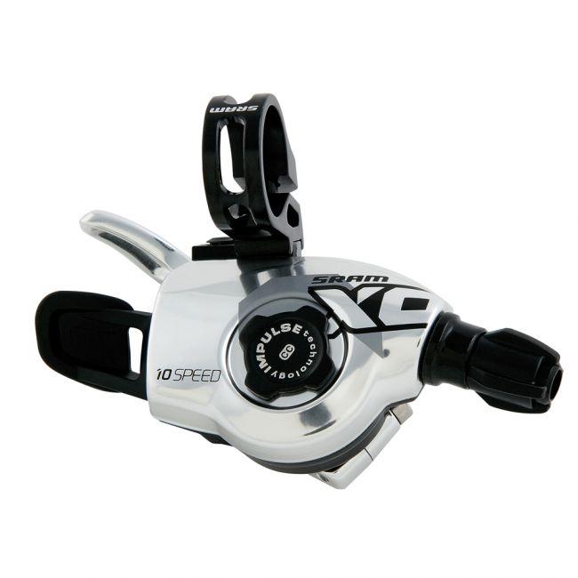 SRAM X.0 Trigger Schalthebel Set 2x10, silber