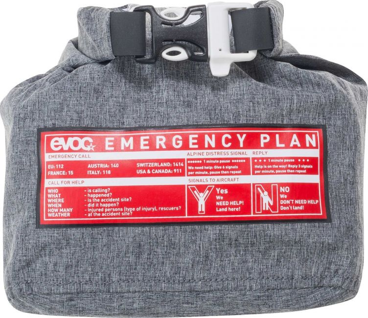 Evoc First Aid Kit Waterproof 1.5L black/heather grey