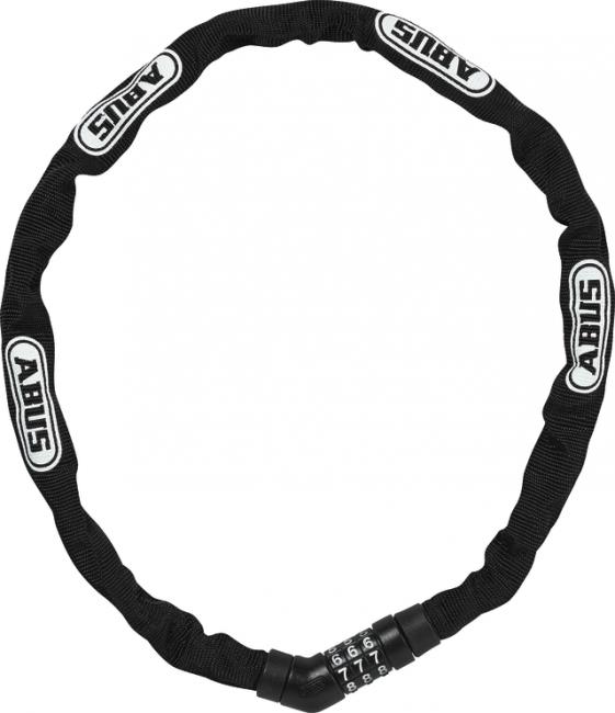 Abus Kettenschloss Steel-O-Chain 4804C schwarz/weiß 75cm