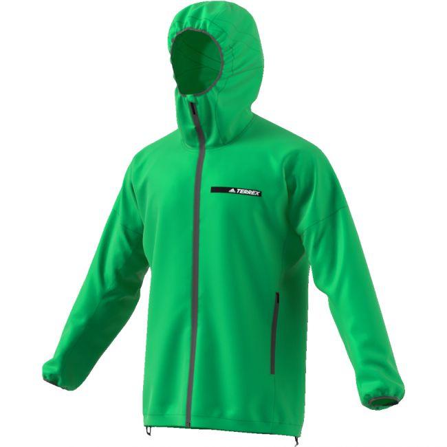 Adidas Windjacke Agravic Alpha Hooded Shield Herren