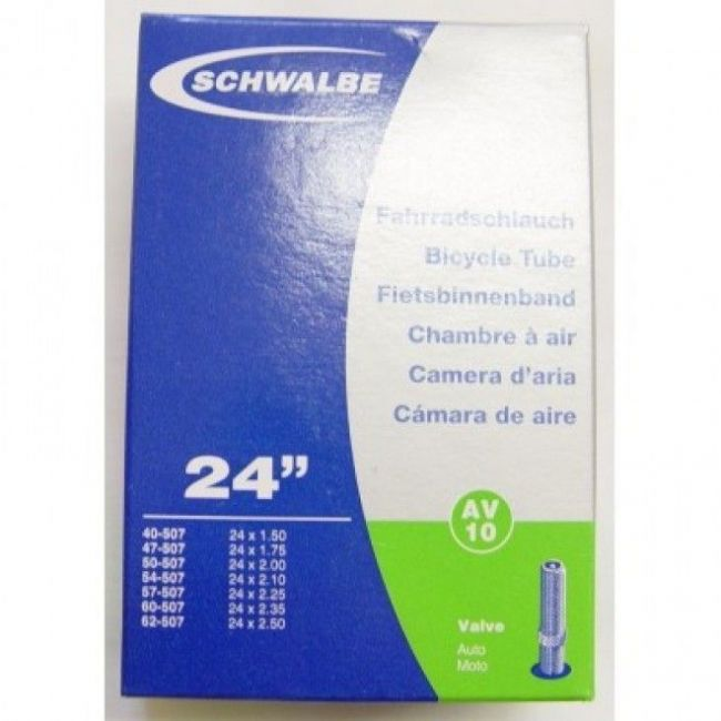 """Schwalbe Schlauch Nr. 10 (AV 40mm) 24"""""""