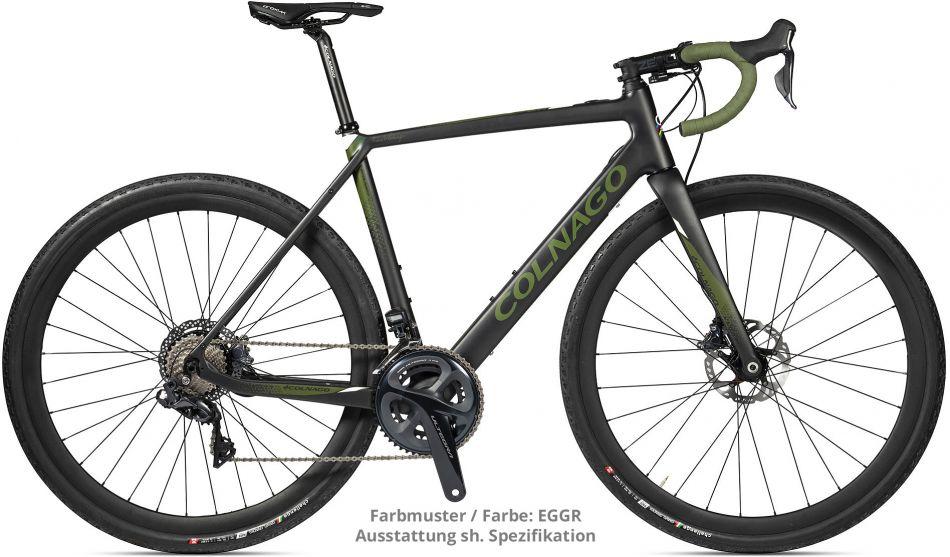 Colnago eGRV Gravel - Shimano GRX 810 - Mavic Aksium  - 2020