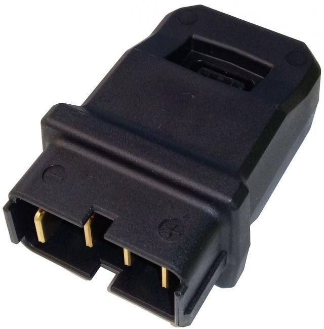 Steckeradapter für SHIMANO STEPS Ladegerät EC-E6000
