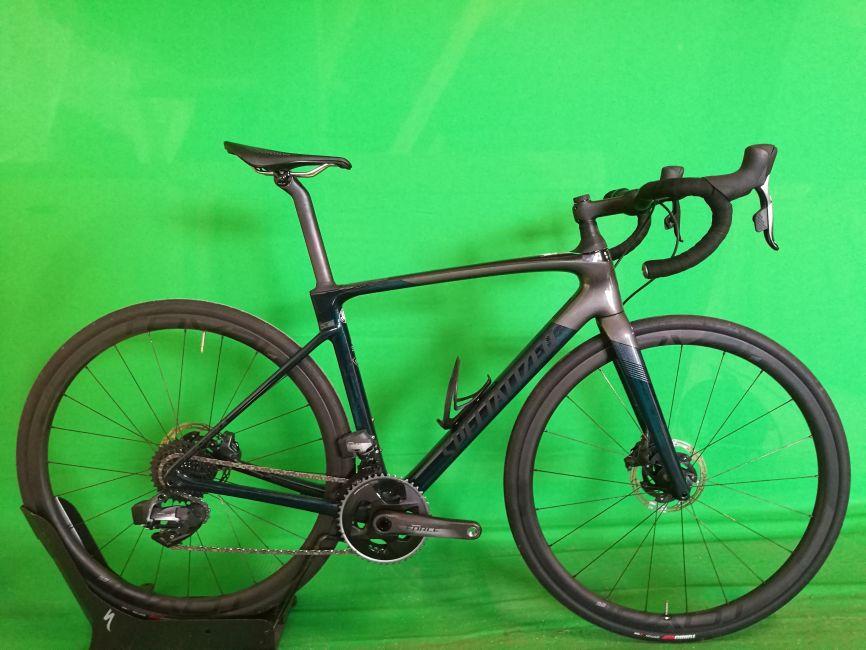 Specialized Roubaix Pro - SRAM Force ETAP AXS - 2020 - Gr.54 charcoal - *Testrad*