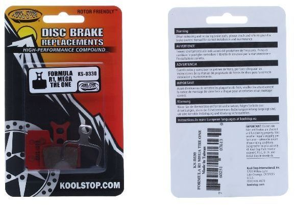 Kool Stop DISC BRAKE Formula RED330