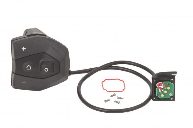 Bosch Bedieneinheit Nyon, Anthrazit, inkl. Verbindungskabel, Dichtung und Schrauben