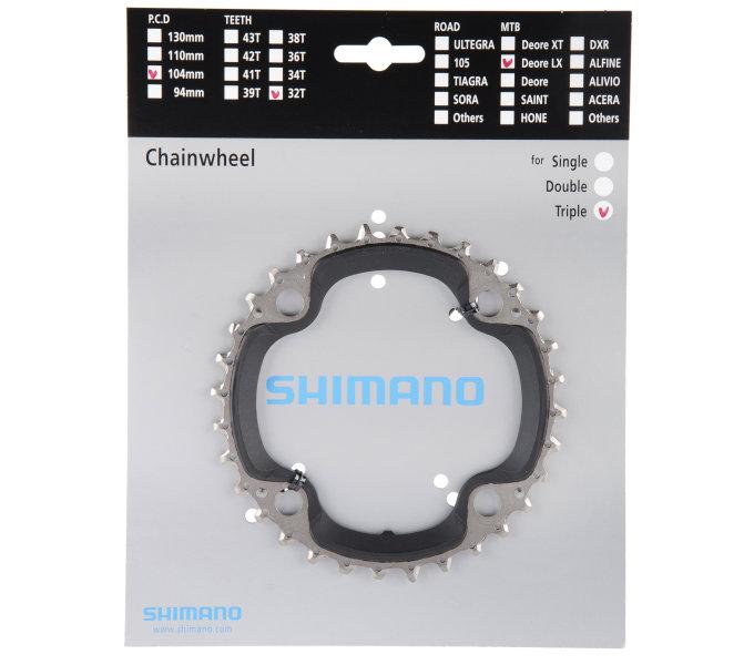 Shimano Kettenblatt SLX FC-M660 32 Zähne